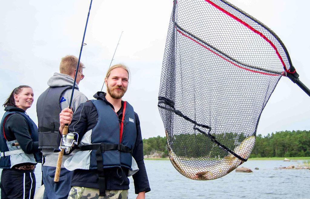 Pike fishing in finland
