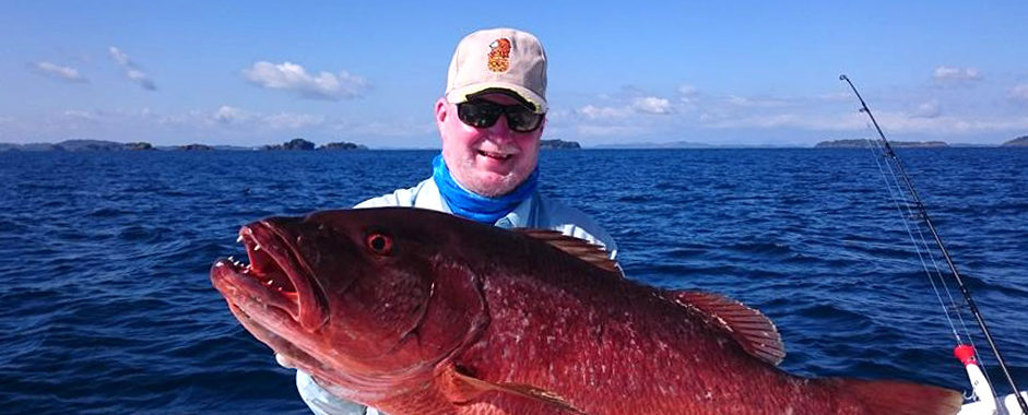 Kalastusta Panamassa