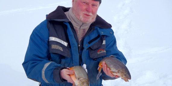 Raudun kalastus pilkki