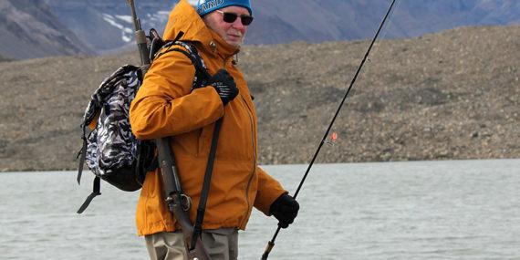 Raudun kalastus Huippuvuorilla